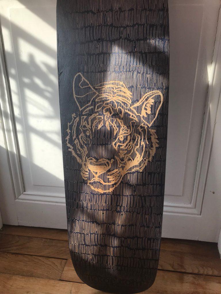 Atelier IKKOÉ gravure artistique sur bois traité